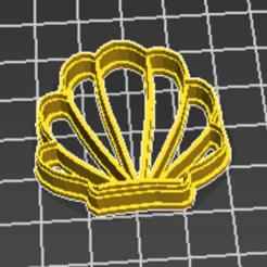 Capturar.PNG Télécharger fichier STL Concha cortador de biscoito • Objet à imprimer en 3D, rovisentini