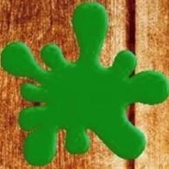 mancha.jpg Télécharger fichier STL Aquarela cortador de biscoito • Objet à imprimer en 3D, rovisentini