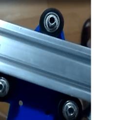 Descargar modelos 3D para imprimir Carro para eje X en perfil 2040 con soporte para motor nema 17, nicorosset94