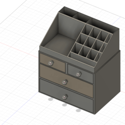 Boite a maquillage.png Download STL file make-up box • Design to 3D print, sebastienservant73