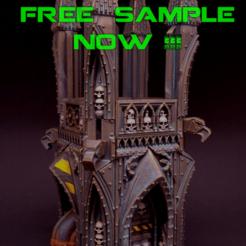 """free samples insa.png Télécharger fichier STL gratuit """"Sinister Cities"""" Kickstarter : échantillon GRATUIT en mode vase • Design imprimable en 3D, RicktheBarber"""