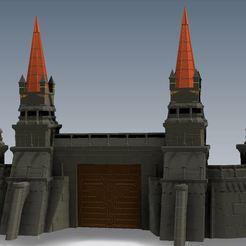 Descargar Modelos 3D para imprimir gratis VMT FW Paredes de la Fortaleza para la impresión en modo de jarrón, RicktheBarber