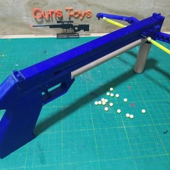 IMG_20200506_183442.jpg Download STL file Pistol Bow 3D printer /GunsToys Funcional bbs 6mm • 3D printing design, gpbarro