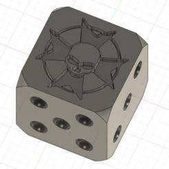 Descargar diseños 3D Los dados de 12 mm de Black Templar para Wargame 40k, ellioschka