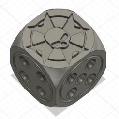 Descargar modelos 3D para imprimir Dados de anillo de 12 mm de Black Templar para Wargaming 40k, ellioschka