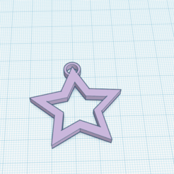 Download free 3D print files Star Earring, DarthLeiah