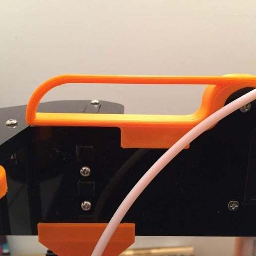 Télécharger fichier STL gratuit Anet A8 Bowden guide • Objet imprimable en 3D, Rhizamax