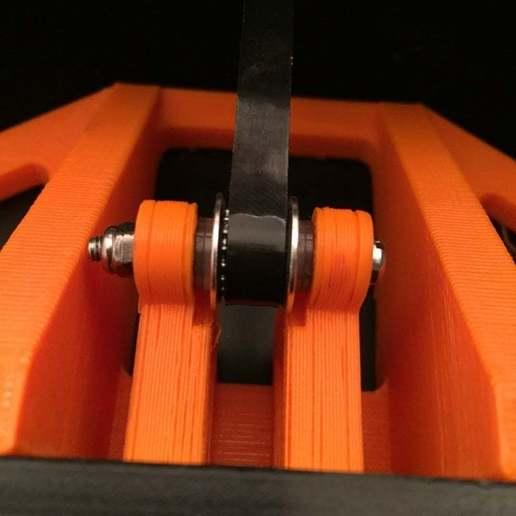 Download free STL Y Belt tensioner modification, Rhizamax
