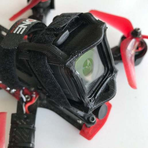 Descargar modelo 3D gratis ALIEN 5 SOFT MOUNT GOPRO SESSION (opción de ranura ND), Rhizamax