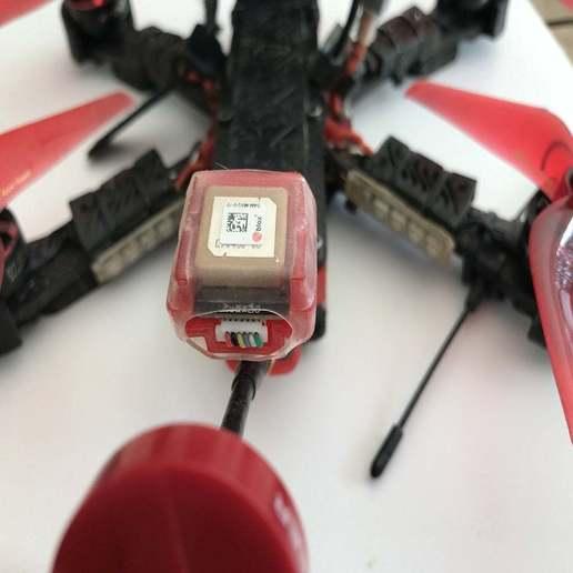 Télécharger fichier impression 3D gratuit ALIEN SOFT MOUNT GPS + PIGTAIL, Rhizamax