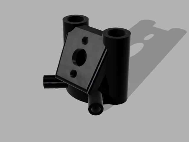 Mark_4_Pig_Tail_30_v7.png Télécharger fichier STL gratuit MARK 4 GEPRC SOFT MOUNT 30° PIGTAIL + TUBES D'ANTENNE • Modèle pour impression 3D, Rhizamax