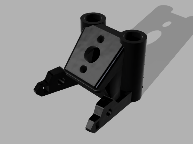 Mark_4_Pig_Tail_45_v19.png Download free STL file MARK 4 GEPRC SOFT MOUNT 45° PIGTAIL + CROSSFIRE • 3D printable model, Rhizamax