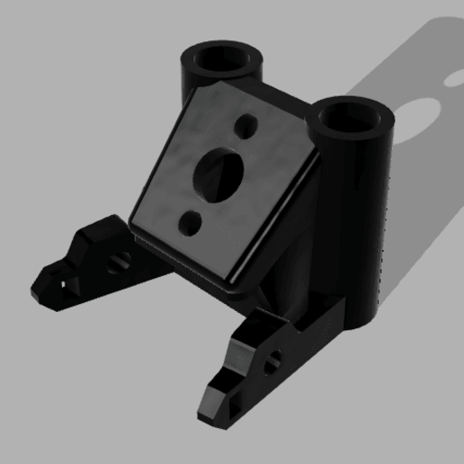 Download free 3D printer designs MARK 4 GEPRC SOFT MOUNT 45° PIGTAIL + CROSSFIRE, Rhizamax