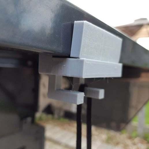 Download free 3D printing files BBQ Clip-On Hook/Hangar, dantu