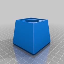 Download free 3D printing templates Customizable Square Furniture Riser, dantu
