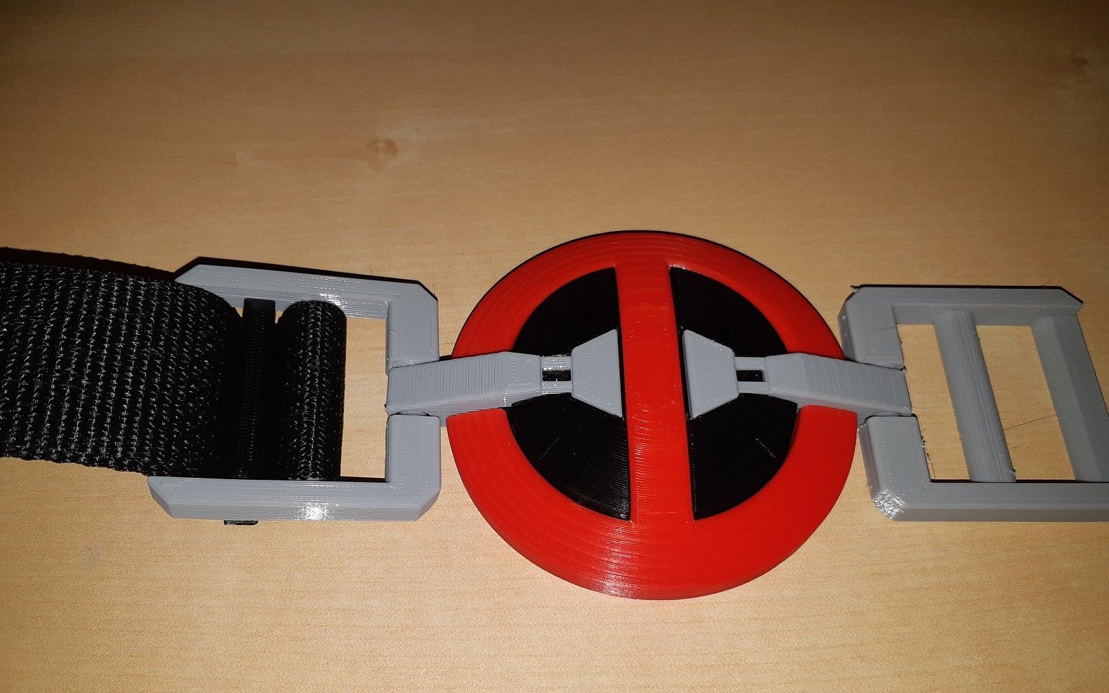 20190724_205914.jpg Télécharger fichier SCAD gratuit Boucle de la ceinture de la piscine morte Pièces de couleur séparée • Modèle pour imprimante 3D, dantu