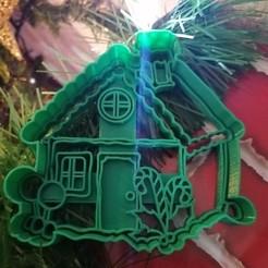 IMG_20201123_212717.jpg Télécharger fichier OBJ Coupeur et fondeur de biscuits de la Maison de Noël • Plan à imprimer en 3D, TATAKA