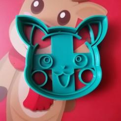 IMG_20201125_133653.jpg Télécharger fichier OBJ Pikachu Cookie Cutter et Fondant Pokémon • Plan pour imprimante 3D, TATAKA
