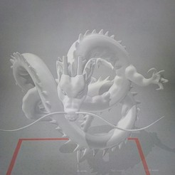 Download free 3D printing templates Dragon Shenron, tititeo12