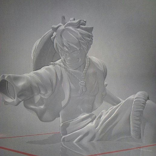 P90910-094334.jpg Download free STL file Luffy One piece • 3D print template, tititeo12