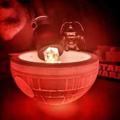 WhatsApp Image 2020-04-09 at 13.37.04.jpeg Download STL file Star Soap Wars - Death star Bowl Soap - Covid  • 3D printing template, Clown_Jos