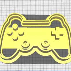 JOYSTICK.PNG Télécharger fichier STL Coupe-biscuits à manette • Modèle pour impression 3D, marcelrios