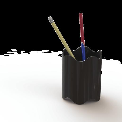 Télécharger fichier imprimante 3D gratuit Support de stylo à bille 3D-Printable, S-Design