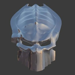 photo_2.jpg Download STL file Predator mask V2 • 3D printer model, ShQarOk