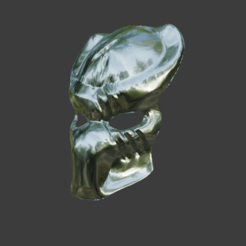 3.png Download STL file Predator mask V3 • 3D printing model, ShQarOk