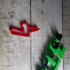 Télécharger fichier STL gratuit cutter 7 licorne • Plan imprimable en 3D, IDEAS3D