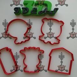 120199017_362279808238784_8447578123380983409_n.jpg Download free STL file farm cookie cutters • 3D printable object, IDEAS3D