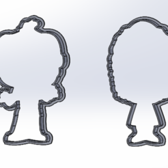 206.PNG Télécharger fichier STL gratuit BEETLEJICE FUNKOWEEN ENSEMBLE D'EMPORTE-PIÈCES • Objet pour impression 3D, IDEAS3D
