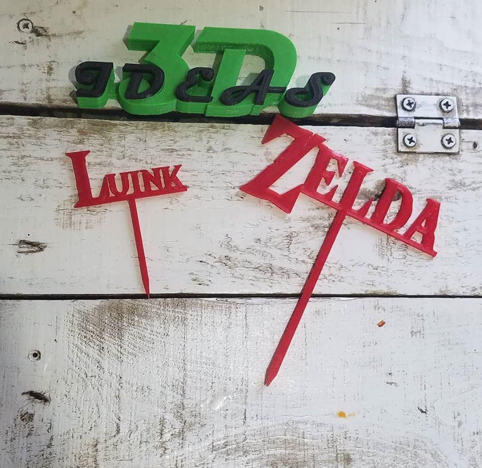 98323377_1052156248515273_5782872631669686272_o (1).jpg Download free STL file cake topper zelda • 3D printing model, IDEAS3D