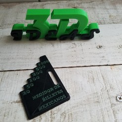 Download 3D printing models Mexican banknote meter, IDEAS3D