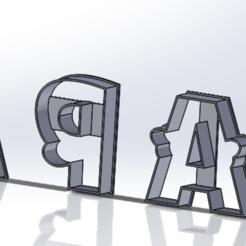 Descargar modelo 3D set cortadores de galleta mama mas stecnil 4 en 1, IDEAS3D