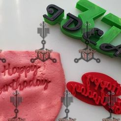 120228242_1146353812428849_4767367372862968816_o.jpg Download free STL file HAPPY BIRTHDAY STAMP • 3D printable object, IDEAS3D