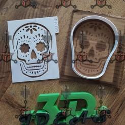 120714114_693218834730612_8578378711542150471_n.jpg Télécharger fichier STL POCHOIR CRÂNE JOUR DES MORTS • Modèle imprimable en 3D, IDEAS3D