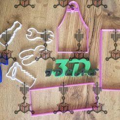 100860318_1057765404621024_6486103110400868352_o.jpg Télécharger fichier STL gratuit ENSEMBLE D'OUTILS POUR EMPORTE-PIÈCES AVEC BOÎTE • Objet imprimable en 3D, IDEAS3D
