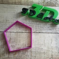 Descargar modelo 3D gratis cortador de galletas papas fritas, IDEAS3D