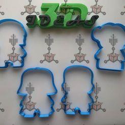 109485032_1099399937124237_4229803384673536798_o.jpg Download STL file star wars cookie cutters • 3D print object, IDEAS3D