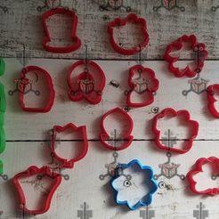 89848391_998482837215948_818689962835705856_o.jpg Download STL file san patricio cookie cutters • Design to 3D print, IDEAS3D