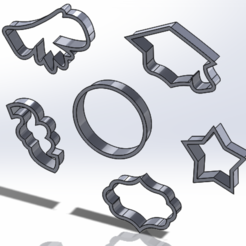 22222222.PNG Download free STL file set of cookie cutters graduation 2 • 3D printing object, IDEAS3D