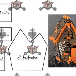 CASA.PNG Download STL file GHOST GINGERBREAD CUTTERS • 3D printer model, IDEAS3D