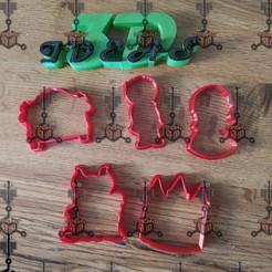 120140539_688832268384846_7419830724195840519_n.jpg Download free STL file COOKIE CUTTER SET, SLEEPING BEAUTY • 3D printable object, IDEAS3D