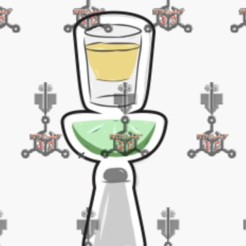 tequila.PNG Download free STL file tequila cutter • 3D printing template, IDEAS3D