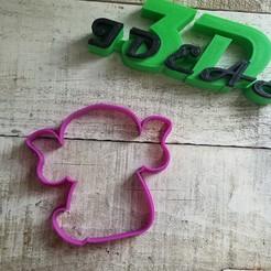 Descargar archivo 3D cortador de galletas baby yoda, IDEAS3D
