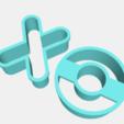 Télécharger fichier impression 3D gratuit les emporte-pièces de la Saint-Valentin, IDEAS3D