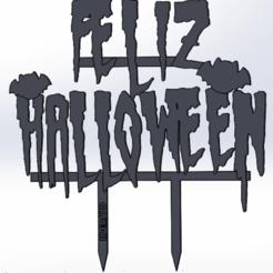 Télécharger fichier STL gratuit un gâteau d'Halloween • Plan pour impression 3D, IDEAS3D