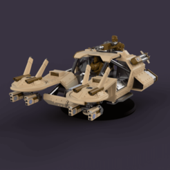 Pirhanna_2021-Jan-16_07-29-55PM-000_CustomizedView18829556387.png Download STL file Hover Humvee for humans that have defected to the space communists • Model to 3D print, davidmckenzieart
