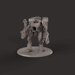 render 1.png Download STL file Mini-Knight for humans that have defected to the space communists • 3D printable template, davidmckenzieart